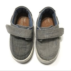 Toms Gray Baby Toddler Sneakers Size T6
